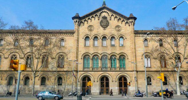 La Universidad antigua.